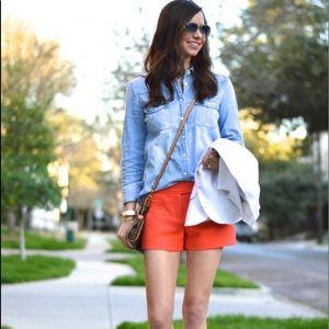TRINA TURK~ Size 10 NWOT Tangerine Shorts